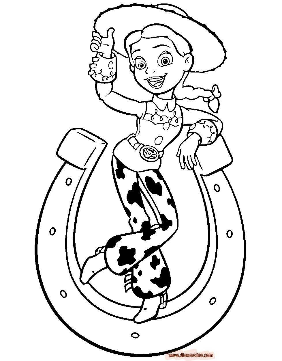978x1250 toy story jessie coloring pages unique toy story drawing