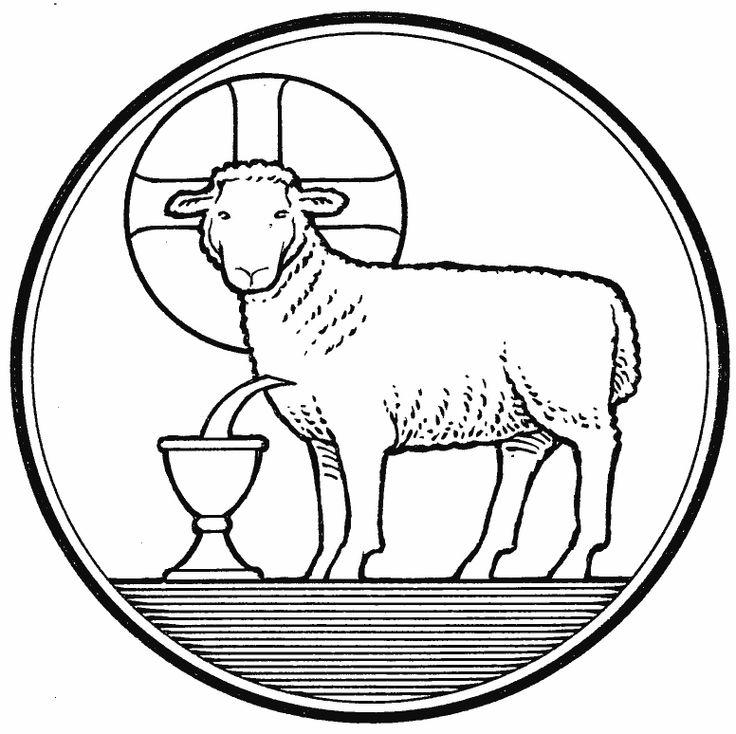 Jesus And Lamb Drawing