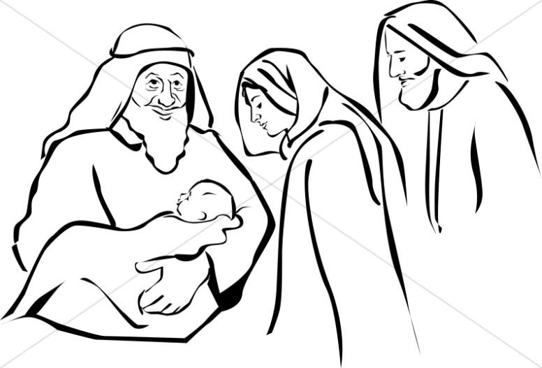 Jesus Hands Drawing