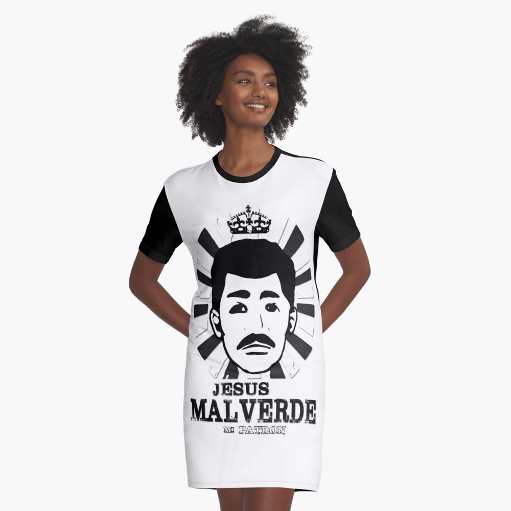 1000x1000 jesus malverde design gang gang gang thug graphic t shirt dress