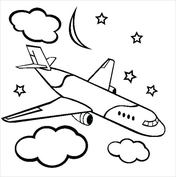 585x588 airplane coloring pages free sky coloring pages sky coloring pages