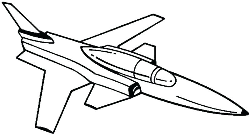 800x449 Fighter Jet Coloring