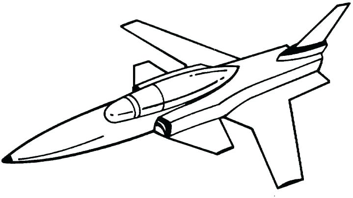 719x404 Fighter Jet Coloring