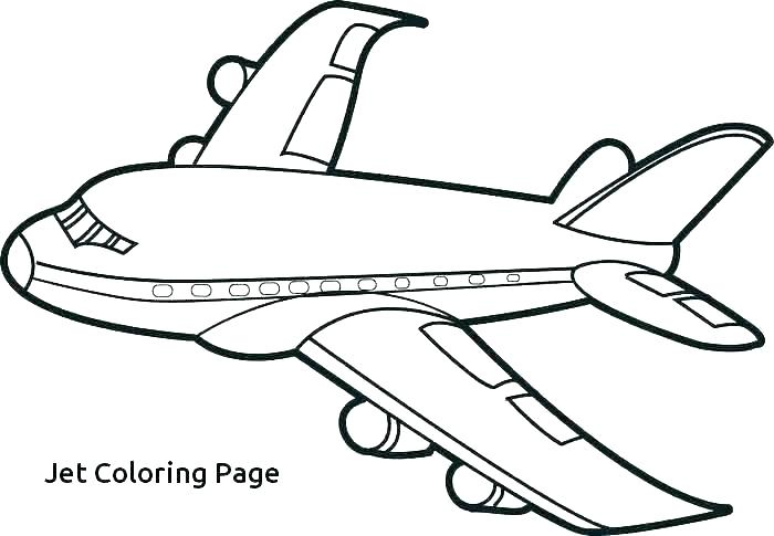 700x485 Airplane Pictures To Print Fighter Jet Coloring Pages Full Size