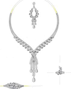 Jewellery Design Drawing