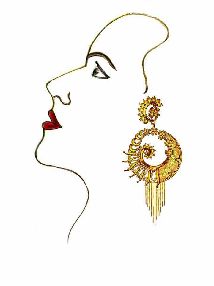 720x960 Earings Jewellery Sketches, Jewelry