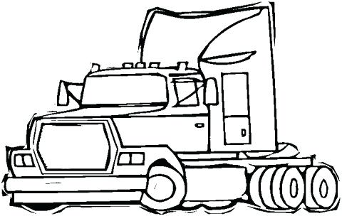480x304 semi trailer coloring pages semi trailer truck coloring