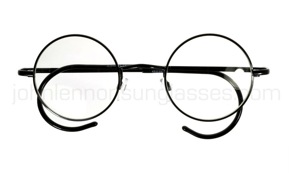 1000x600 round john lennon glasses curly cable temples blackclear ml