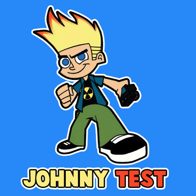 400x400 How To Draw Johnny Test From Johnny Test With Easy Step