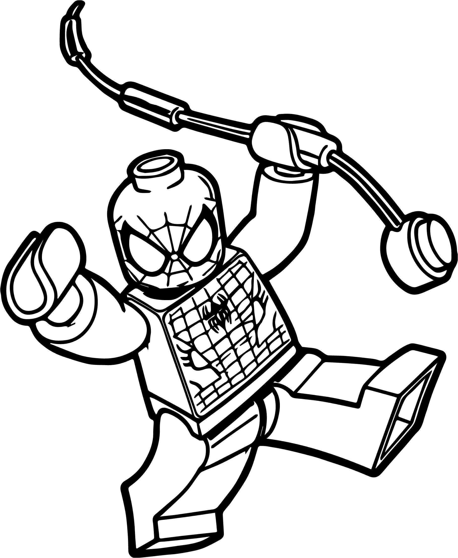 1846x2248 Johnny Test Coloring Pages Luxury Coloriage Lego Spiderman Awesome