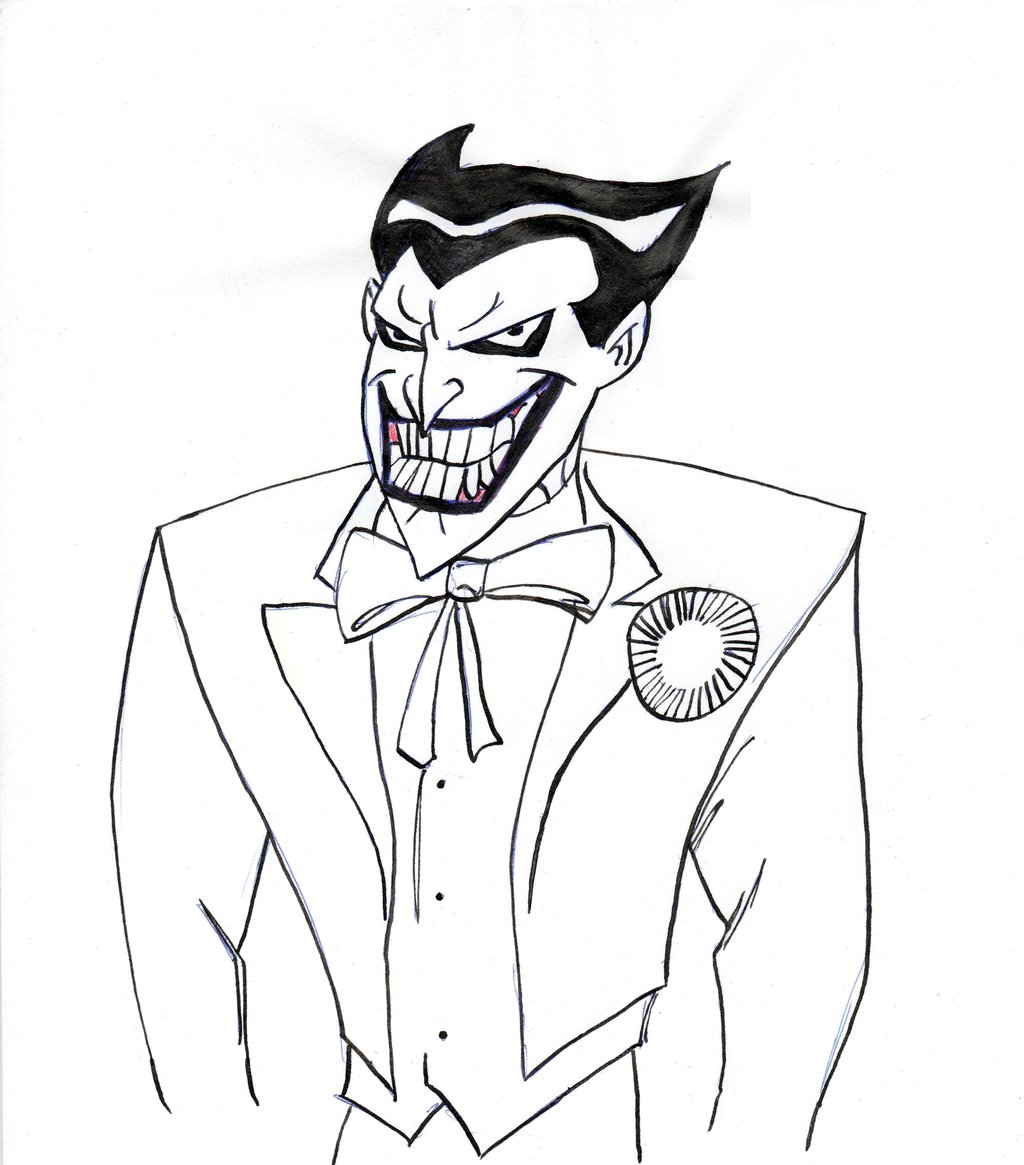 Joker Comic Drawing