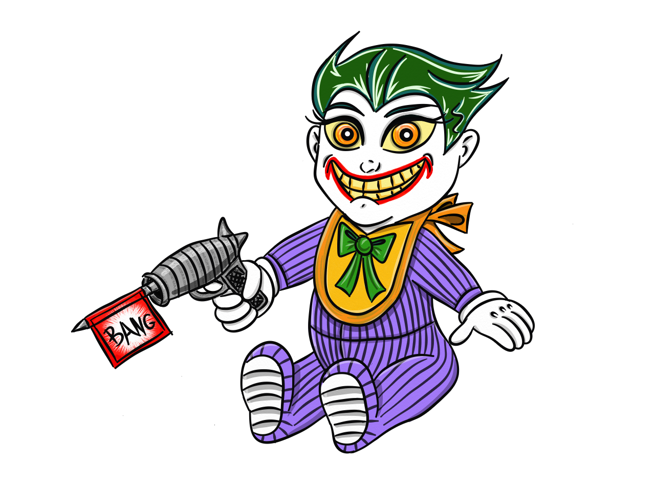 Joker Drawing Cartoon