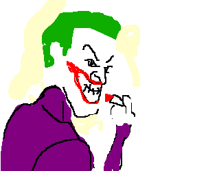 300x250 Drawing The Joker Transparent Png Clipart Free Download