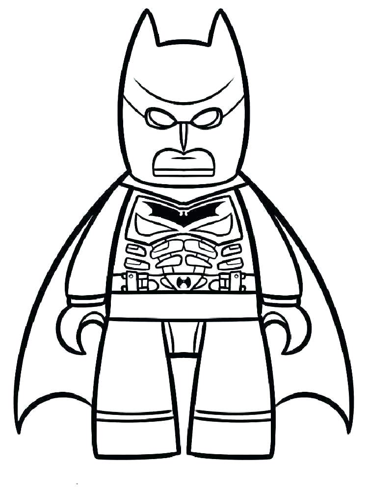 750x1000 Printable Lego Batman Coloring Pages Free Superhe Colouring