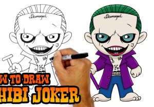 300x210 Cartoon Joker Drawing How To Draw Cartoon Joker