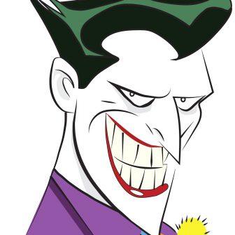 336x336 Joker Drawing Simple Sketch Cartoon Spiderman Easy Face Dragon I