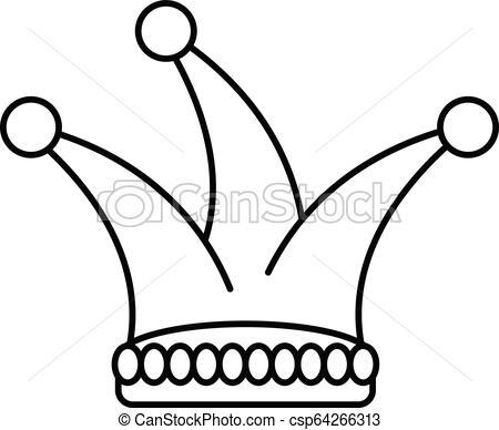 450x388 Joker Hat Icon, Outline Style Joker Hat Icon Outline Joker Hat