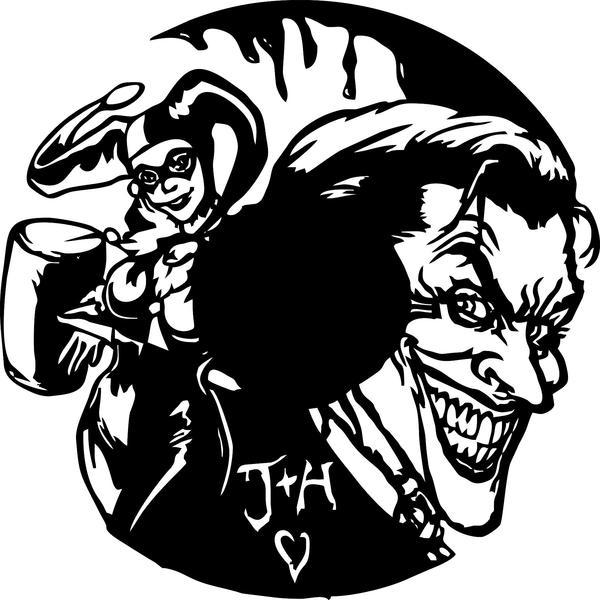 600x600 Joker Laser Cut Vinyl Record Artist Representation Smfx Designs