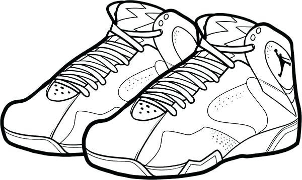 Jordan 12 Drawing Free Download Best Jordan 12 Drawing On