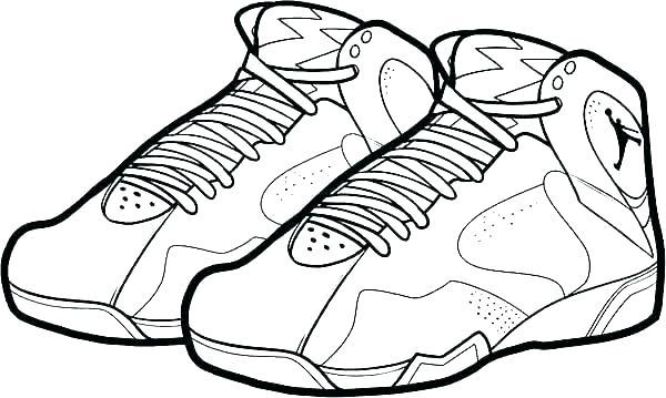 600x359 jordan shoes coloring sheets shoes coloring pages shoes coloring