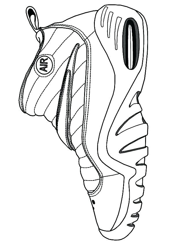 Jordan Shoes Drawing