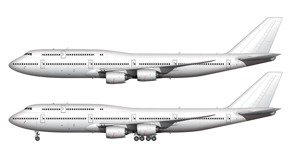 1024x570 boeing side view drawing aviation boeing aviation