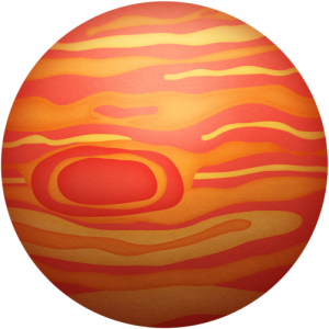 300x300 Jupiter Drawing, Picture