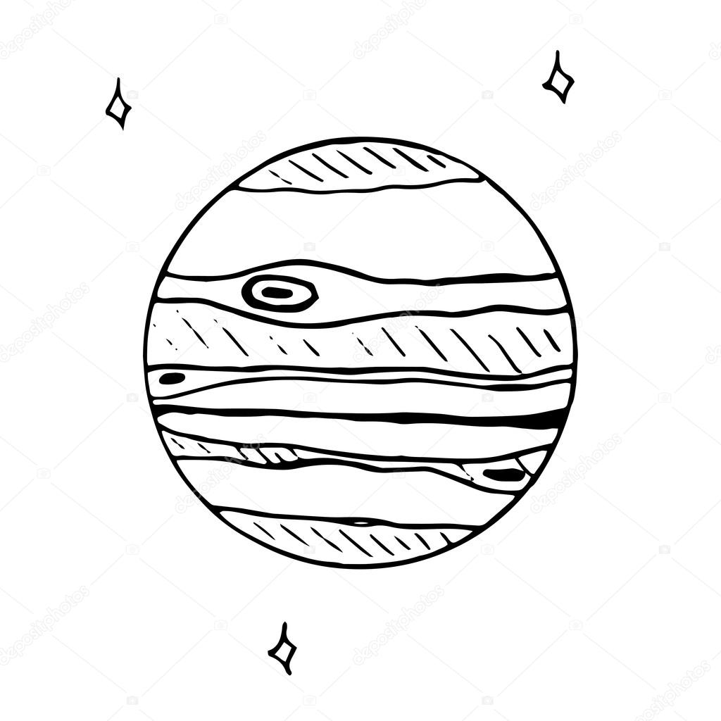 1024x1024 Jupiter Drawing Cartoon For Free Download