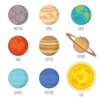 416x416 Arka Plan Solar System Planets