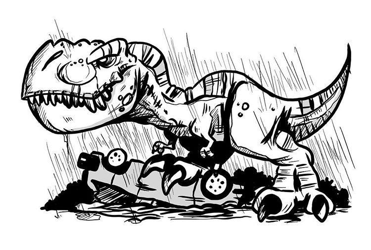 750x505 Jurassic Park Chibi Rex