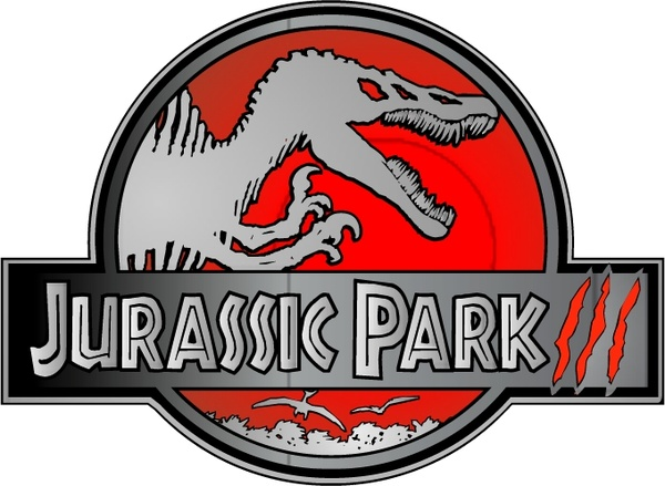 600x439 Jurassic Park Iii Free Vector In Encapsulated Postscript