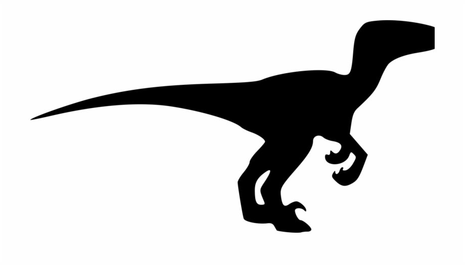 920x525 velociraptor tyrannosaurus dinosaur silhouette drawing