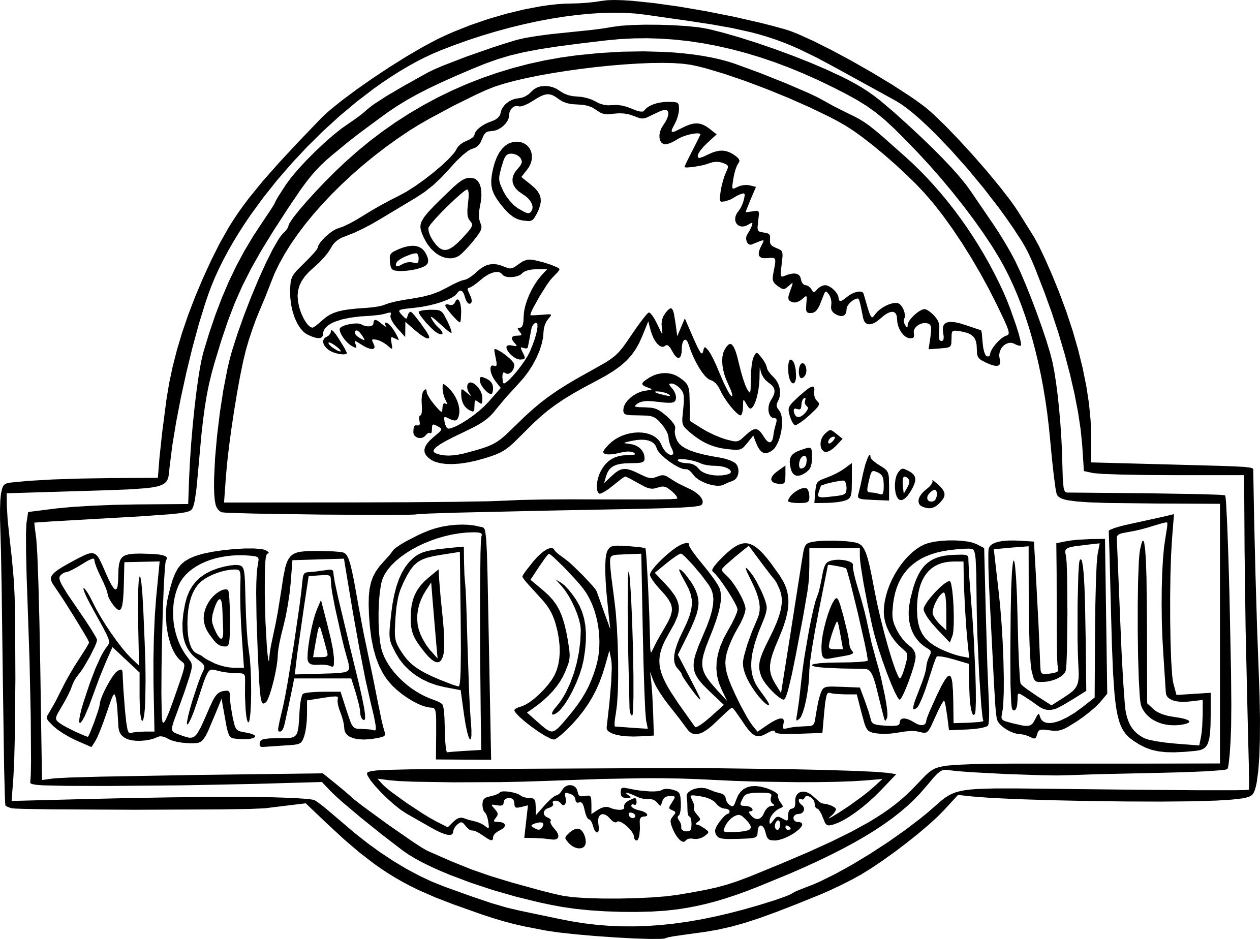 2479x1848 Jurassic World Coloring Pages Jurassic Park Coloring Pages