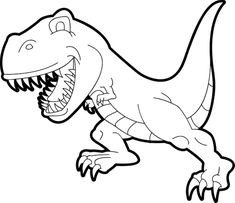 235x203 New Jurassic World Dilophosaurus Coloring Pages