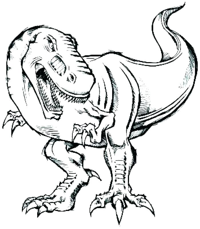 699x800 Tyrannosaurus Rex Coloring Pages T Coloring