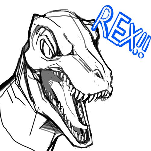 500x500 dinosaur velociraptor tyranosaurus rex jurassic world indominus