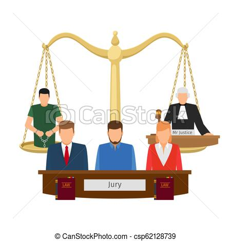 450x470 justice concept with scales justice concept vector illustration