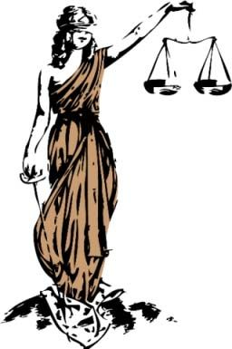 256x385 direito lady justice in justice tattoo, lady justice, law