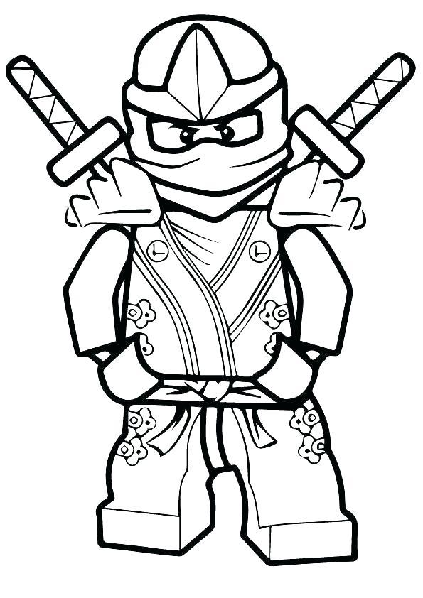595x842 kai ninjago coloring pages free coloring pages lego ninjago movie