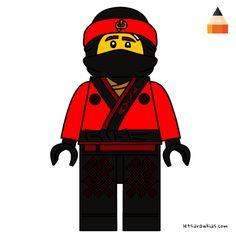 236x236 how to draw kai ninjago ninjago in lego ninjago, lego