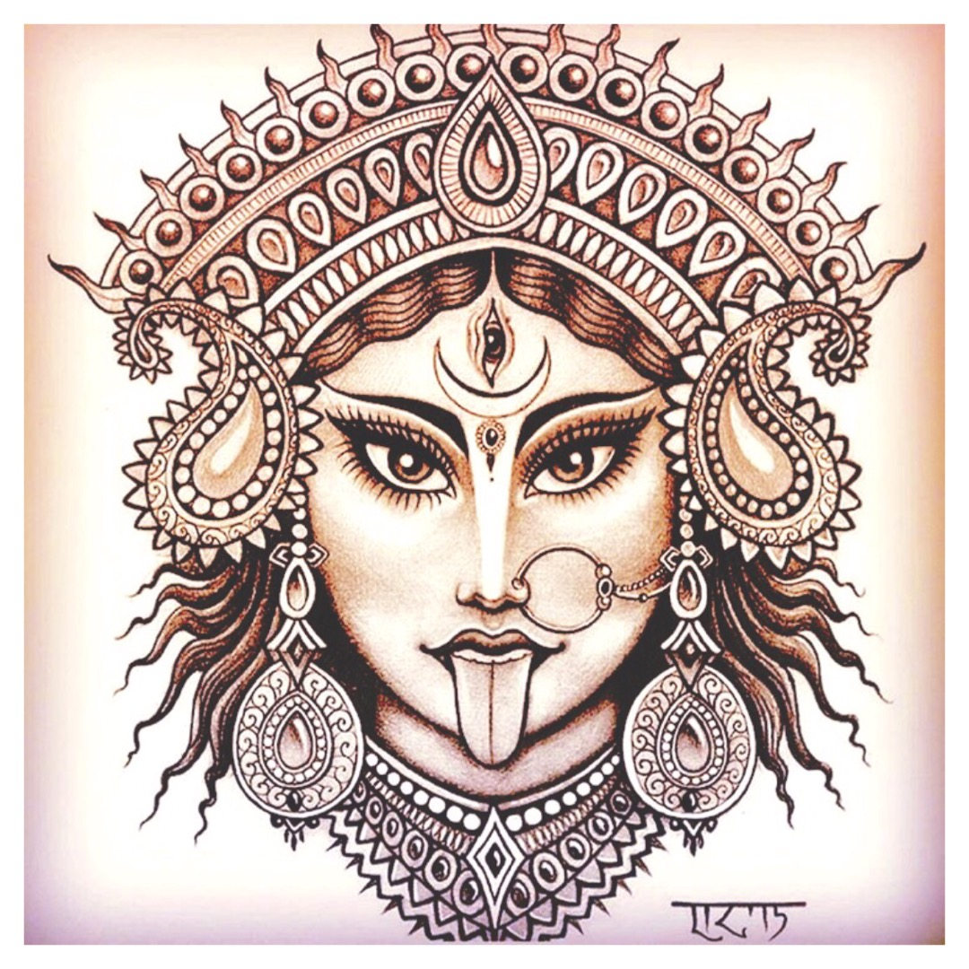 Kali Drawing Free Download Best Kali Drawing On Clipartmagcom