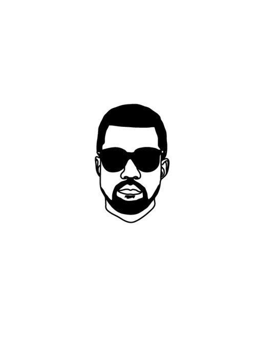 500x708 drawing mr west in kanye west tattoo, kanye west