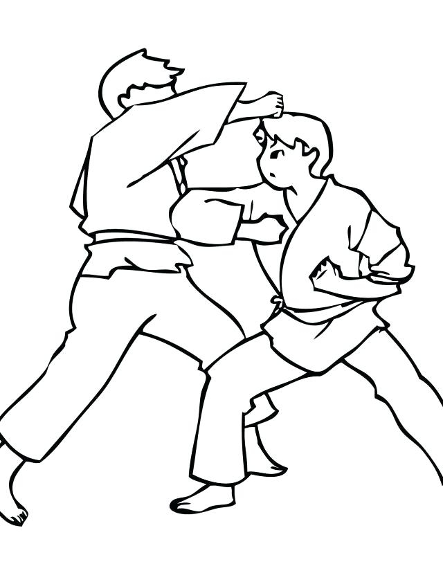 640x828 karate kid coloring pages karate kid coloring pages karate kid