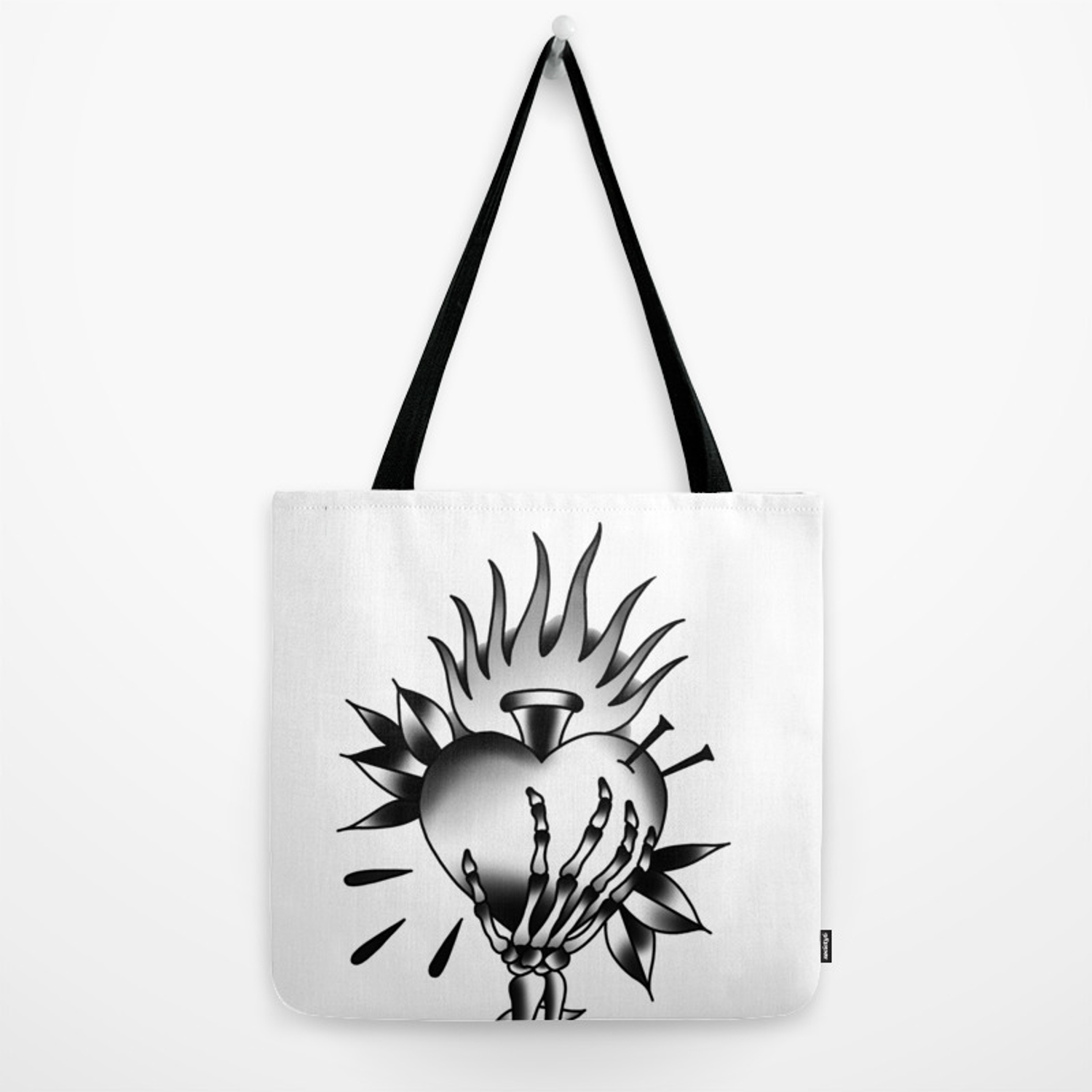 1500x1500 Tattoo Tradition Art Keep My Heart Hand Designs Drawing Craft Tote