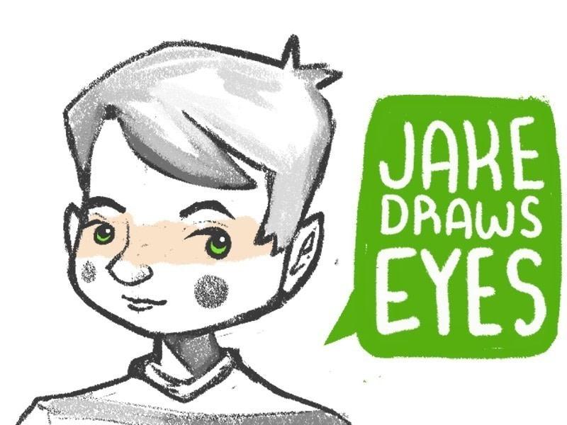 800x600 Tutorial Jake Draws Eyes How To Draw An Eye Drawing Art