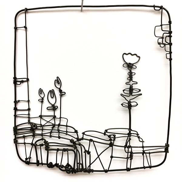 600x600 barbara gilhooly wire works wire drawings