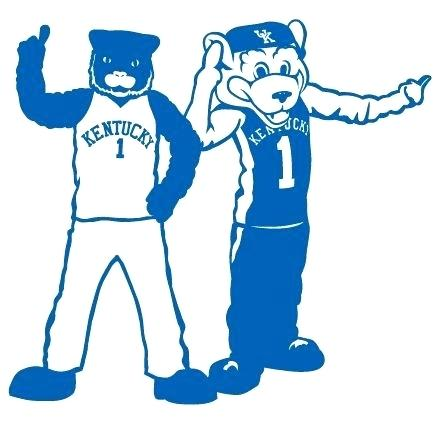 440x429 kentucky wildcats mascot wildcats basketball tournament second