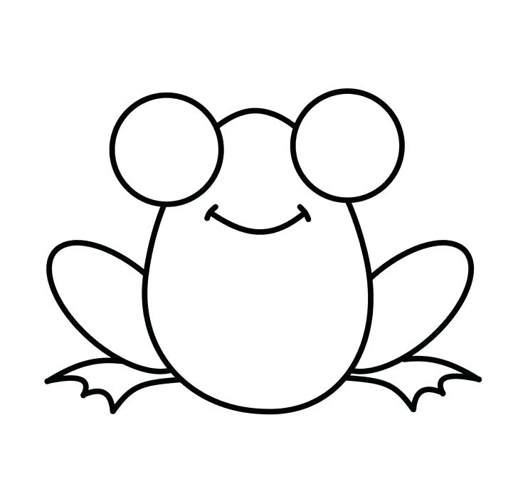 735x687 how to draw a frog face how to draw a frog how to draw a frog draw