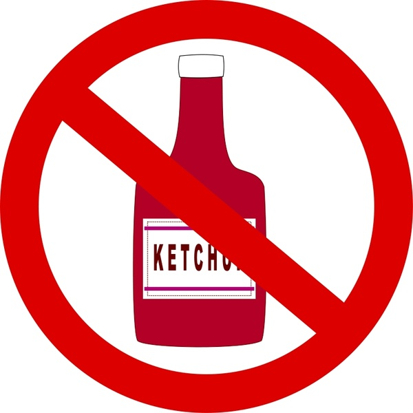 600x600 ketchup forbidden free vector in open office drawing