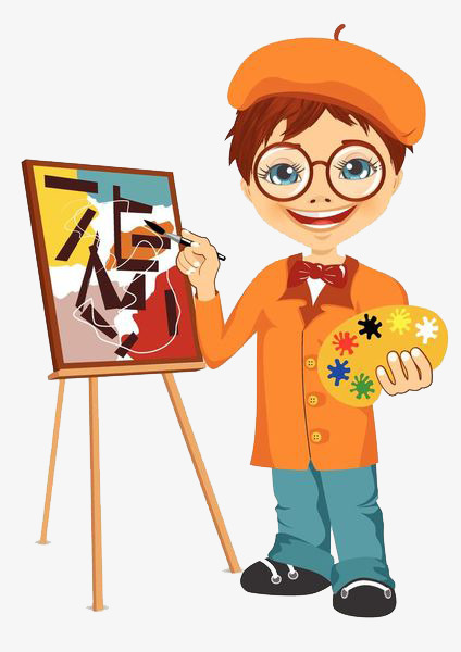 424x600 a kid with a dye plate, plate clipart, painting, draw png image
